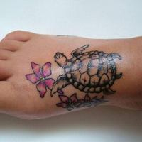 B 406813 Labels Feet tatto