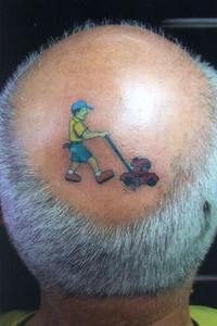 Head tatto